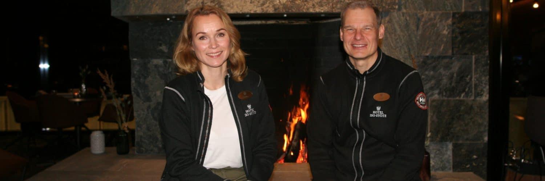 Katariina ja Juha Kuukasjärvi Tunturihotelli Iso-Syöte